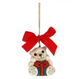 Paul the Polar Bear Christmas tree decoration