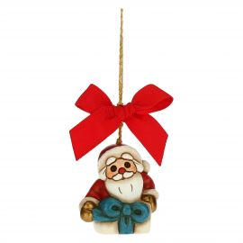 Father Christmas in parcel Christmas tree decoration