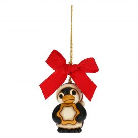 Penguin with star Christmas tree decoration