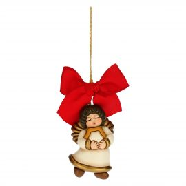 Angel with star Christmas tree decoration