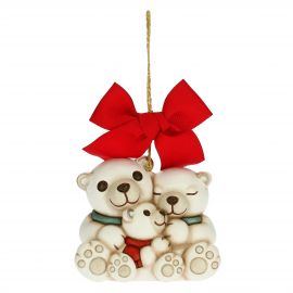 Paul the Polar Bear family Christmas tree decoration