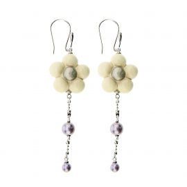 "Earrings ""Old classic"" Marguerite Eternal"