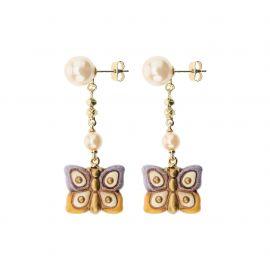 """Earrings """"Old classic"""" Nouveau Papillon"""