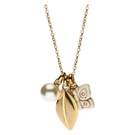 Necklace Gold Leaf