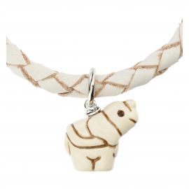 Bracciale Teen con elefantino in ceramica