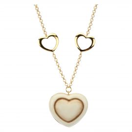 Nine hearts necklace
