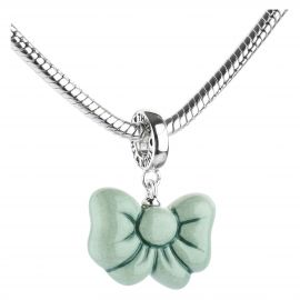 "Charm Collection ""Green ribbon"""