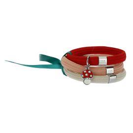 Bracciale elastico colorato Impulse con funghetto