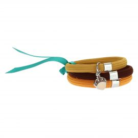 Bracciale elastico colorato Impulse con ghianda