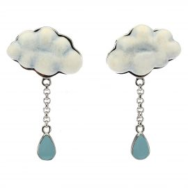 Earrings Current cloud