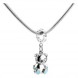 Baby boy Teddy Mom charm