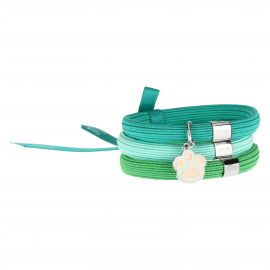 Savana story Impulse coloured elastic bracelet with paw