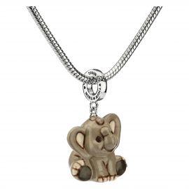 """Savana story"" ""Special Icon"" elephant charm"