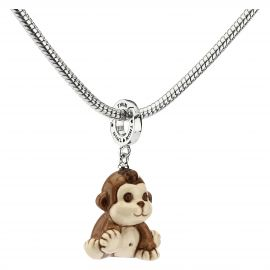 "Charm ""Special icon"" scimmia ""Savana story"""