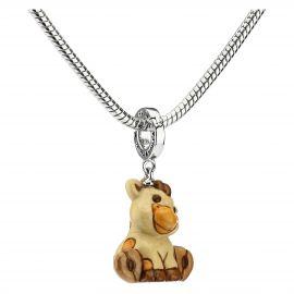 "Charm ""Special icon"" giraffa ""Savana story"""