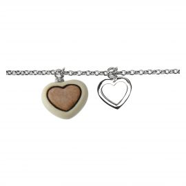 Current bracelet with heart