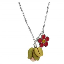 Mamma Simply You Current necklace with flowers