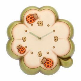 Orologio da parete a forma di quadrifoglio