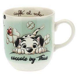 Green mug Dalmatian THUN Disney® Carica 101