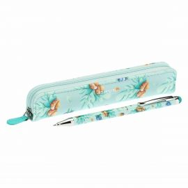 "Mini trousse with pen ""Preludio d'inverno"""