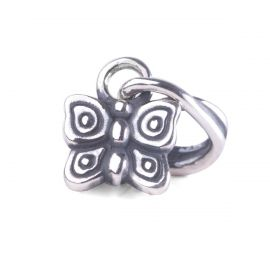 THUN by TROLLBEADS® Flying Butterfly Pendant - I love freedom