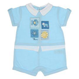 """Baby boy romper 0-3 months THUN & OVS in bio cotton """"Dolci amici"""""""