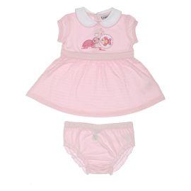 "Dress baby girl 3-6 months THUN & OVS in bio cotton ""Dolci amici"""