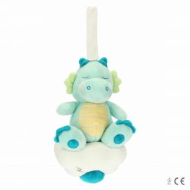 Carillon plush little dragon