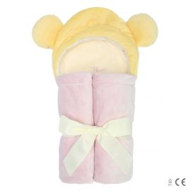 Plush bathrobe little fairy