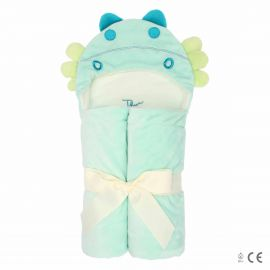 Plush bathrobe little dragon
