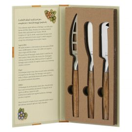 Set 3 cheese knives Country