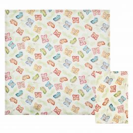 "Set of 2 ""Farfalle in Festa"" napkins"