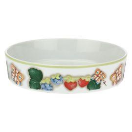 """Tutti Frutti"" porcelain pie dish"
