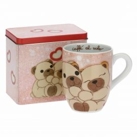 Tell Me Your Love mug with tin box