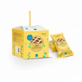 Set regalo box back to life con 4 crostatine alla gianduia e sorpresa