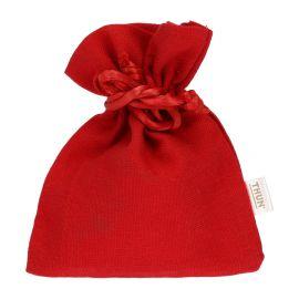 Red comfit holder 9x11 cm