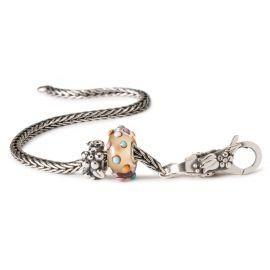Il bracciale dei desideri d'argento 17 cm THUN by Trollbeads®