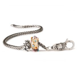 Il bracciale dei desideri d'argento 18 cm THUN by Trollbeads®