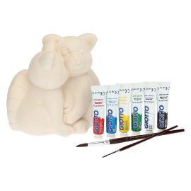 Kit Decora per un amico con coppia di panda