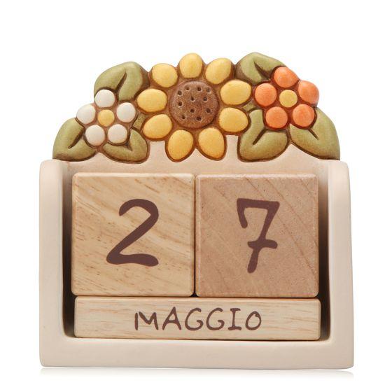 Calendario perpetuo da tavolo in ceramica Country | Thun