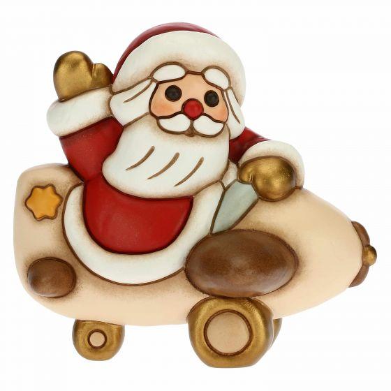 Il Babbo Natale.Babbo Natale Su Aeroplano Thun