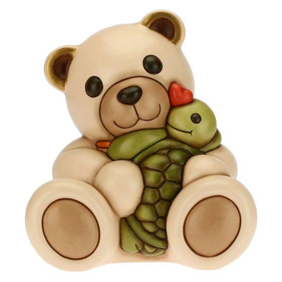 THUN Sammlerfiguren 'Teddy mit Schildkröte Vera' 2021