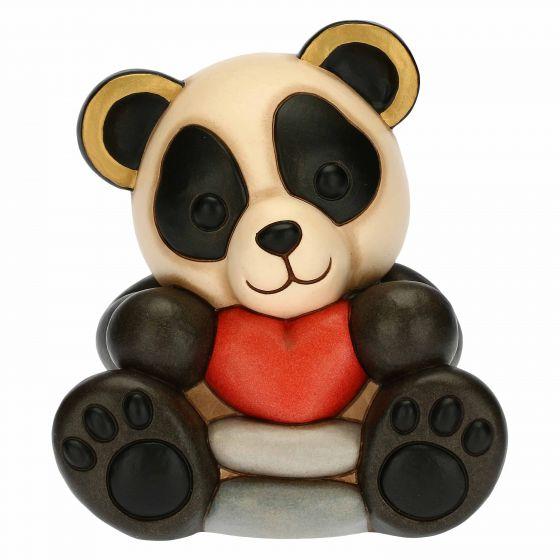 THUN Sammlerfiguren 'Panda Bandoo mit Herz' 2021