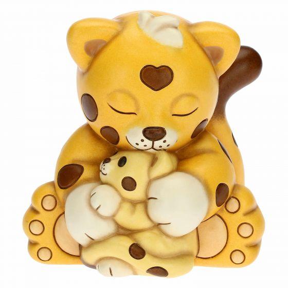 THUN Sammlerfiguren 'Leopard Dalì Umarmung mit Mama' 2021