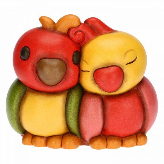 THUN Sammlerfiguren 'Verliebtes Papageienpaar' 2021