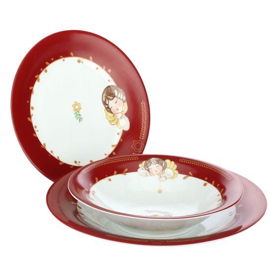 Natale Thun.Set 18 Plates Dolce Natale Thun