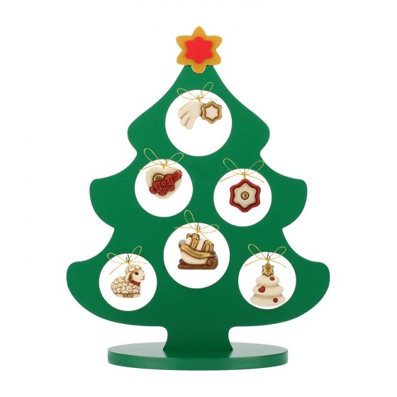 Albero Di Natale Con Foto.Albero Di Natale Con 6 Mini Addobbi In Ceramica Thun