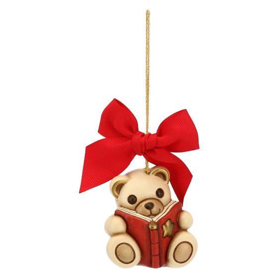 Addobbi Natalizi Thun.Addobbo Per Albero Di Natale Teddy Con Libro Grande Thun
