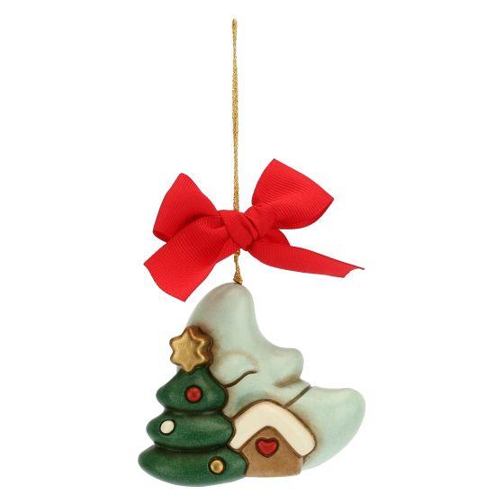 Addobbi Natalizi Thun.Addobbo Per Albero Di Natale Luna Maxi Thun
